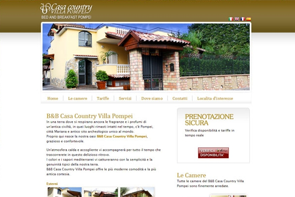 B&B Casa Country Villa Pompei